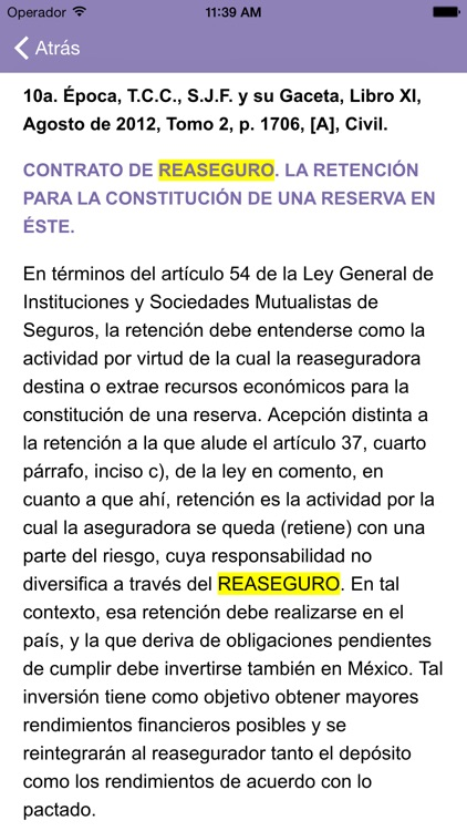 i-Lex Jurisprudencia Mercantil screenshot-3