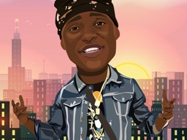 Emoji Media proudly presents PhreshMoji - the official emoji app by the Brooklyn rapper Phresher