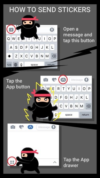 Ninja Animated Stickers Screenshot 3