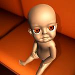 Suis bébé en jaune foncé на пк
