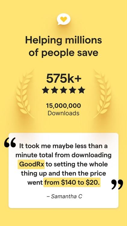 GoodRx: Prescription Coupons screenshot-7