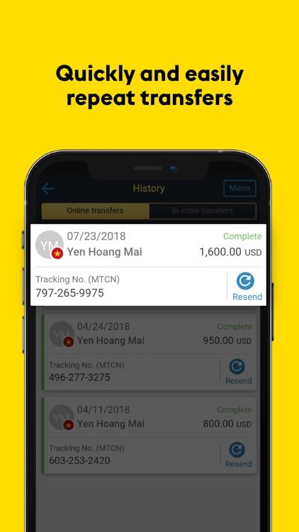 Western Union®: Money Transfer screenshot-3