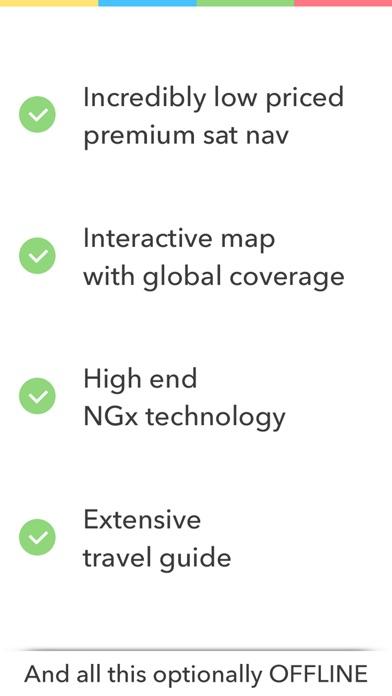 Screenshot #5 for GPS Navigation (Sat Nav)