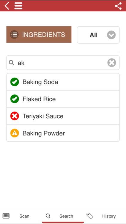The Gluten Free Scanner FULL screenshot-3