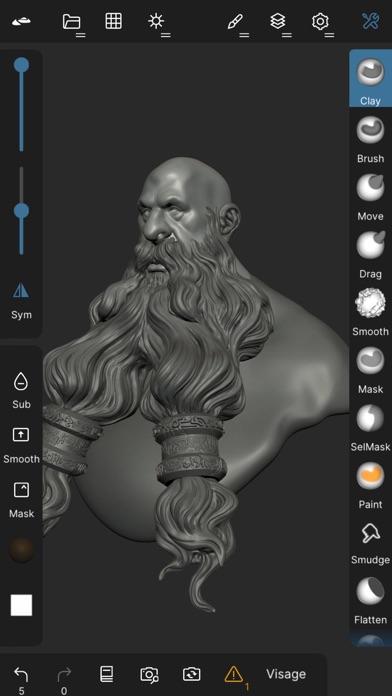 Скриншот №1 к Nomad Sculpt