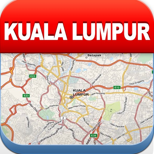 Kuala Lumpur Offline Map, Metr