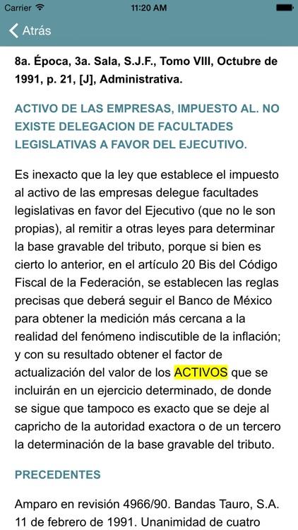 i-Lex Jurisprudencia Fiscal screenshot-3