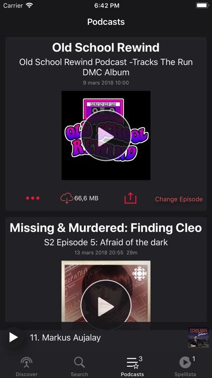 Pods - Podcast Player screenshot-4