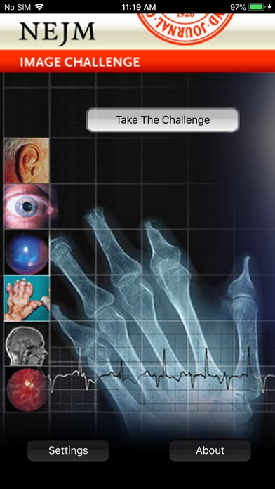 Screenshot for NEJM Image Challenge in Denmark App Store