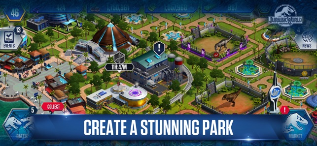 Jurassic world the game on the app store jurassic world the game on the app store gumiabroncs Images
