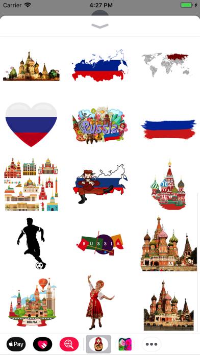 Russia Stickers! screenshot two