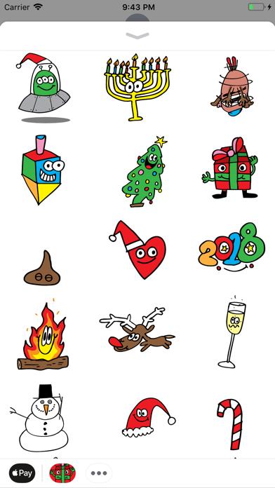 点击获取Holidaze Animated Sticker