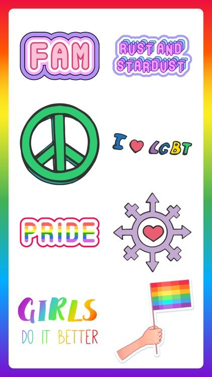 80+ Pride Love Sticker Pack screenshot-5