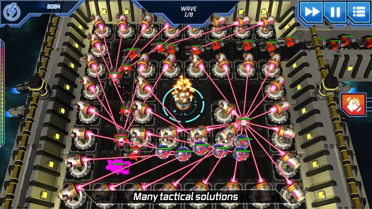 Module TD. Sci-Fi Tower Defens screenshot-3