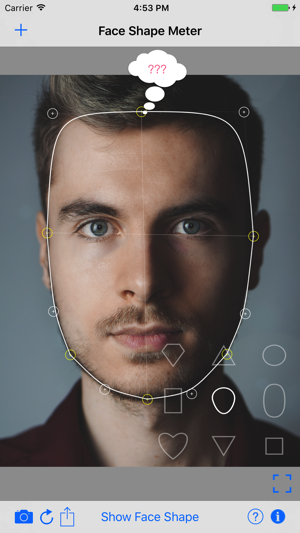 Face Shape Meter Ideal Finder On The App Store