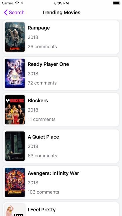 Rippple - TV & Movie Comments screenshot-8