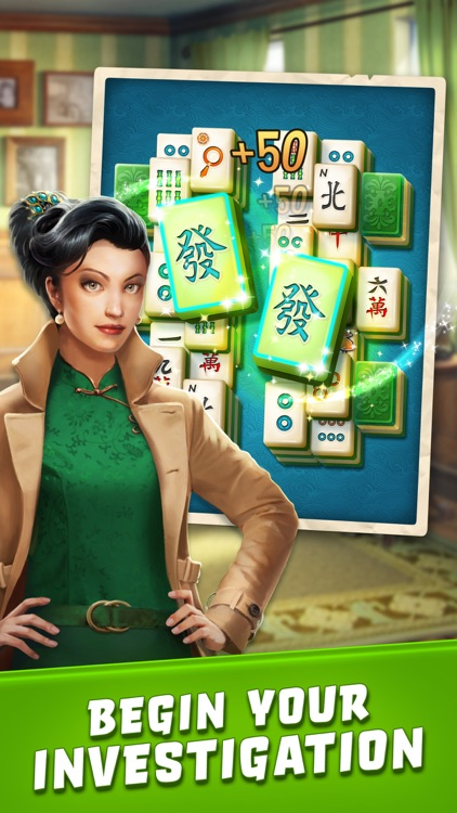 Mahjong Crimes screenshot-0