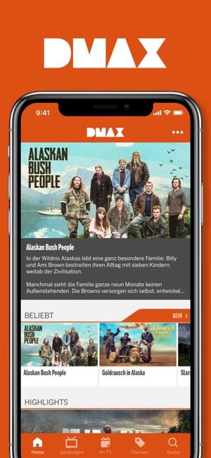 dmax shop app