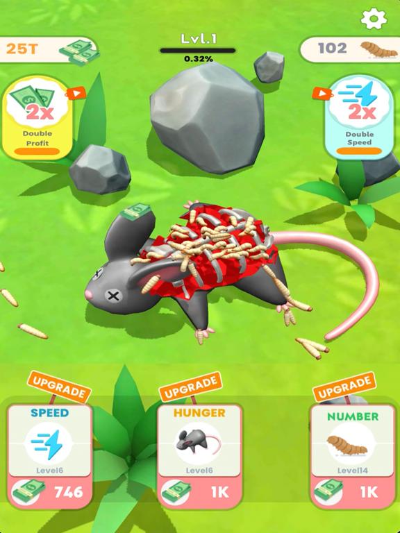 iPad Image of Idle Maggots - Simulator Game