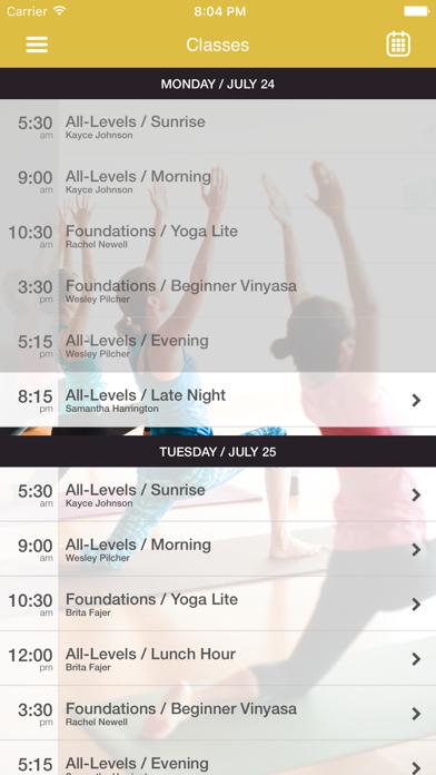Arkansas Yoga Collective screenshot three