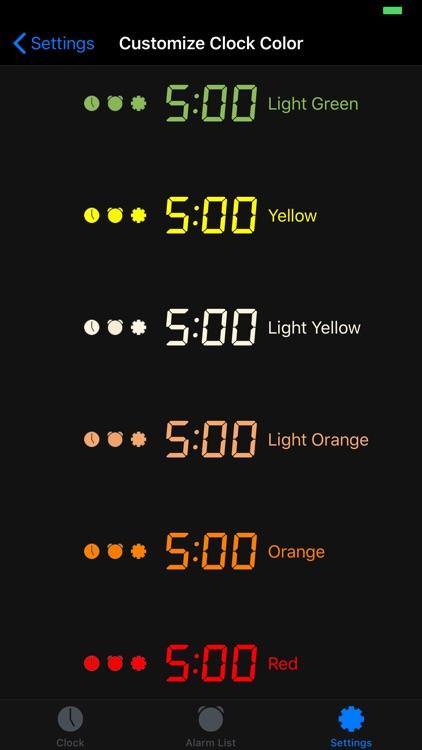 Mathe Alarm Clock - Black screenshot-5