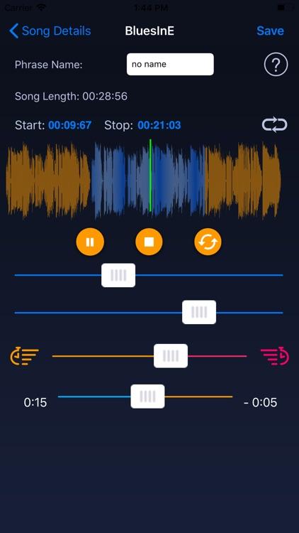 Slow Down Music Player screenshot-7