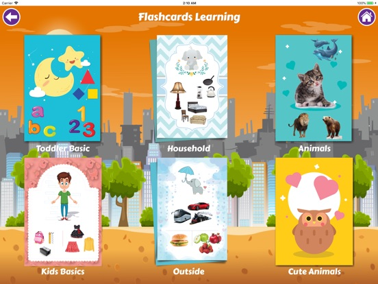 Toddler Flashcards 4 Baby Kids Screenshots