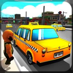 Taxi Driver Sim 3D: Crazy Cab