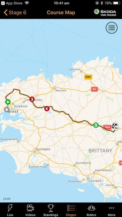 ŠKODA Tour Tracker 2018 By SBS screenshot-4