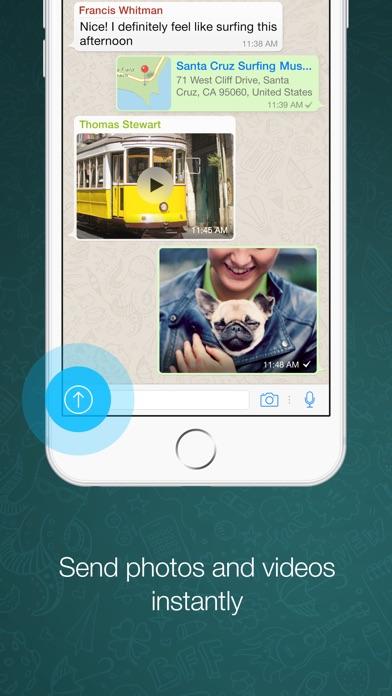 WhatsApp Messenger iPhone