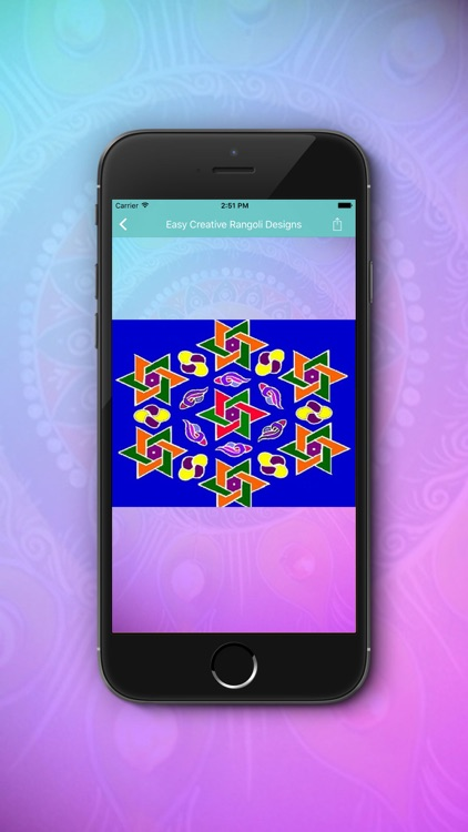 Easy Creative Rangoli Designs screenshot-3
