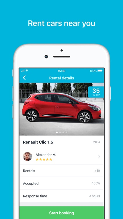 GoMore – rental & ridesharing screenshot-0