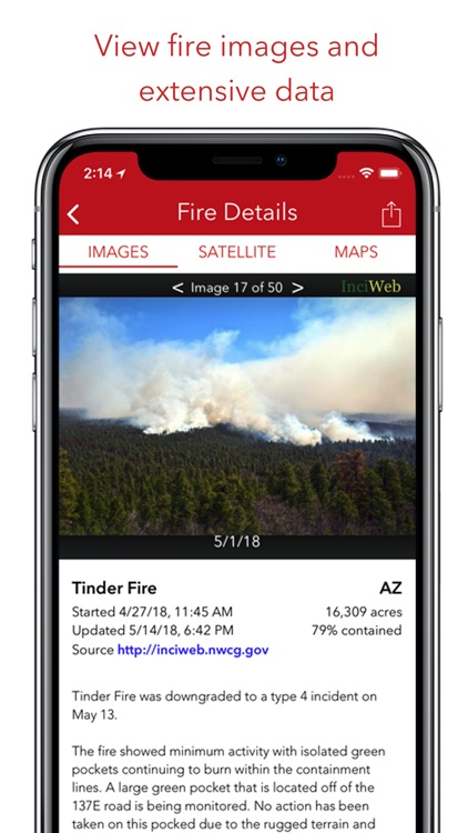 Fire Finder - Wildfire Info screenshot-1
