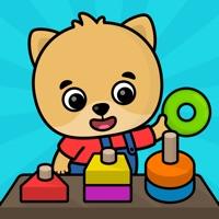 2歳から4歳を対象とした子供向けアプリ
