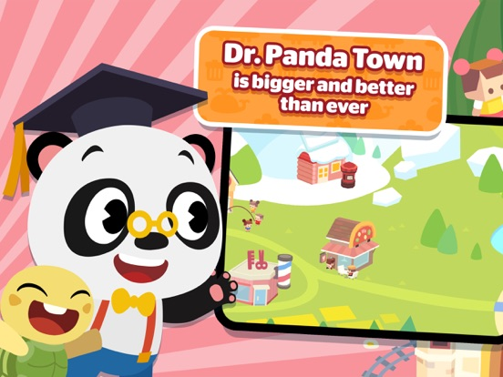 iPad Image of Dr. Panda Town - Let's Create!