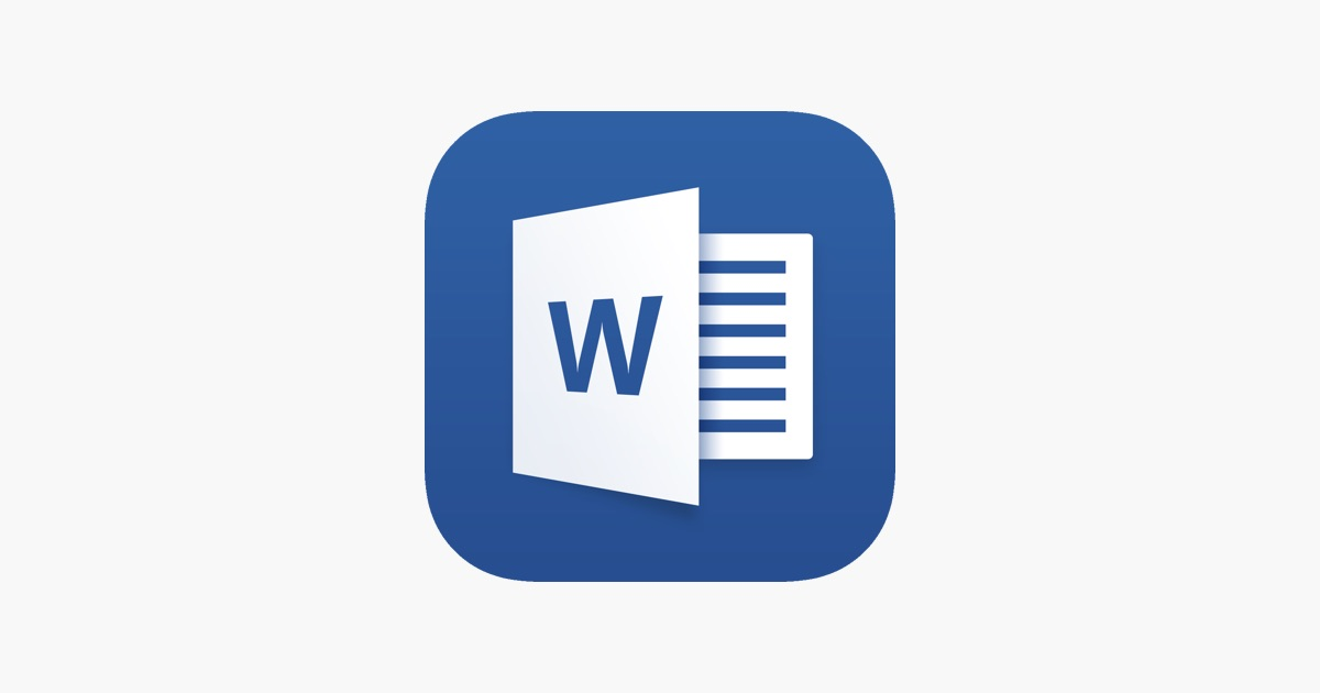 Word: Microsoft Word On The App Store