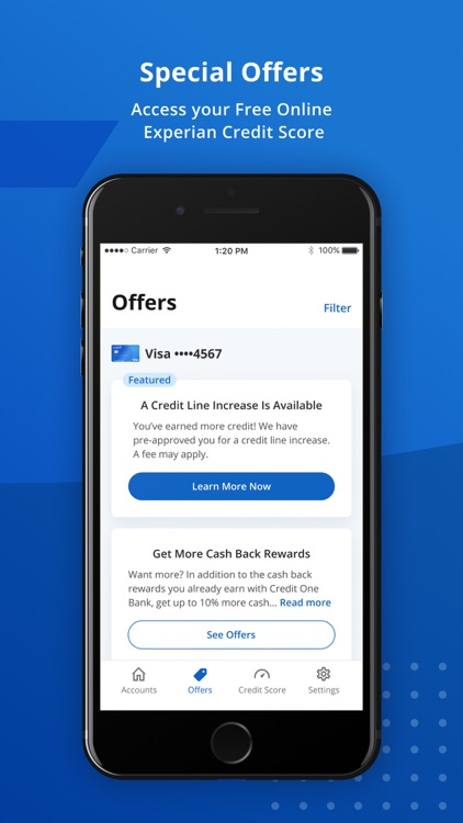 Credit One Bank Mobile screenshot-3