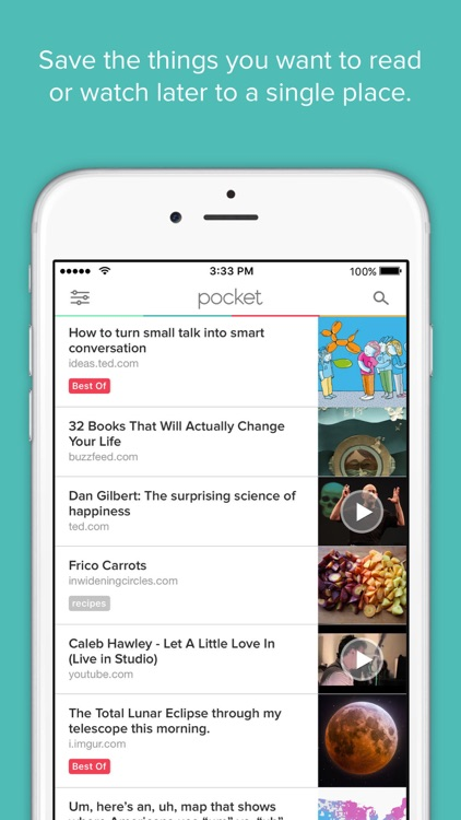 Pocket: Save Stories for Later