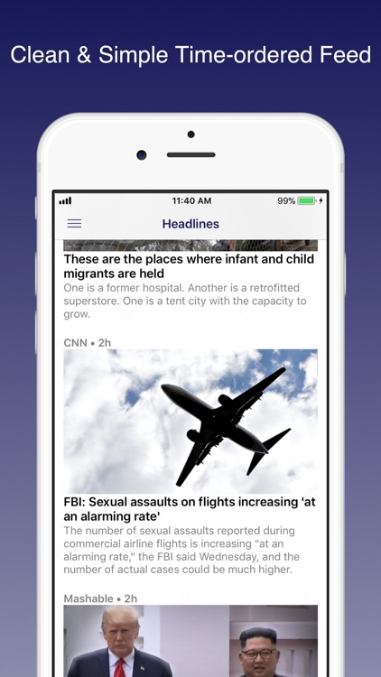 Newsflow: Real News Feed