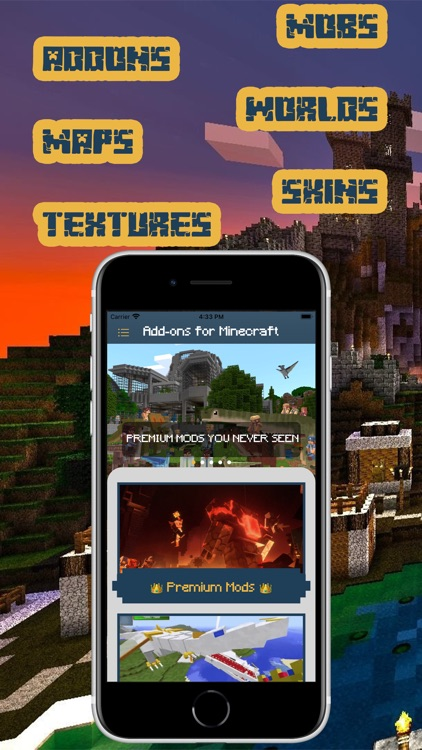 Add-ons for Minecraft (MCPE) screenshot-3