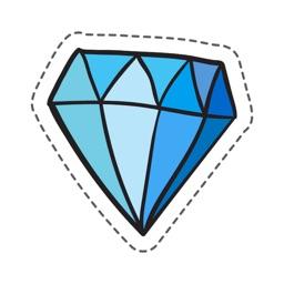Diamond Stickers Pro