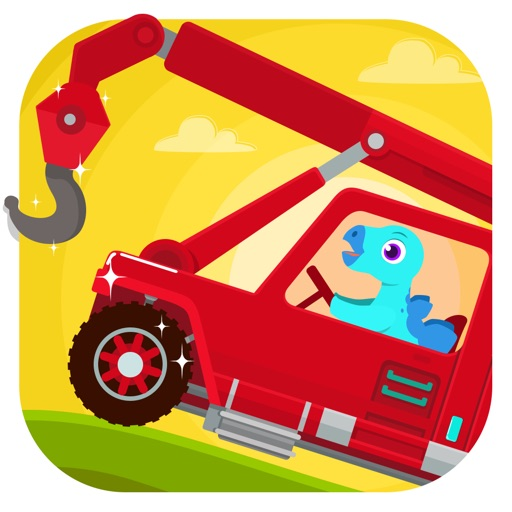 Dinosaur Rescue - Truck Games