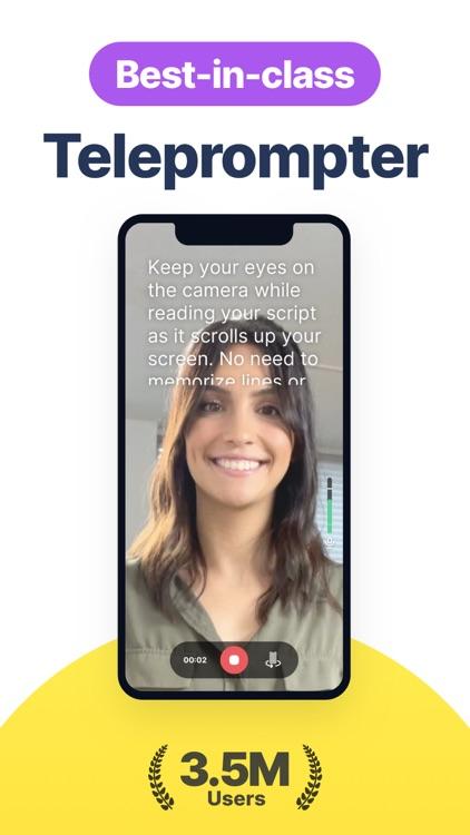 Teleprompter & Video Captions screenshot-0