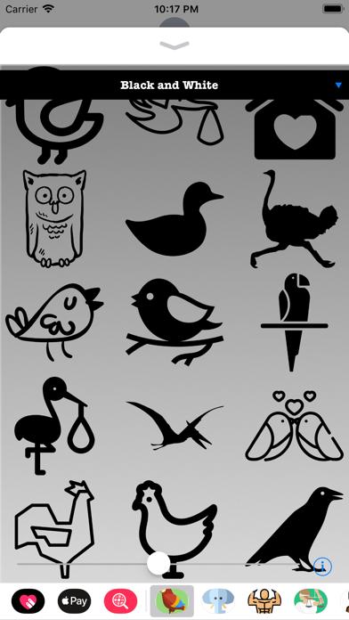 Bird Stickers HD screenshot four