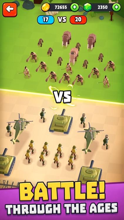 Battle Simulator: Warfare screenshot-3