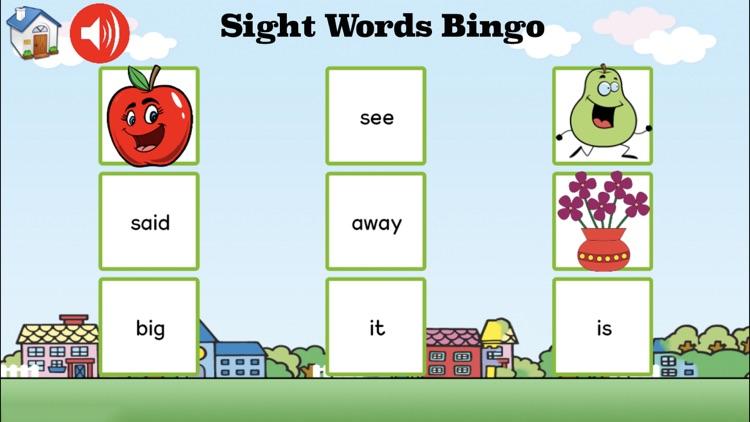 Sight Words Games & Activities screenshot-3