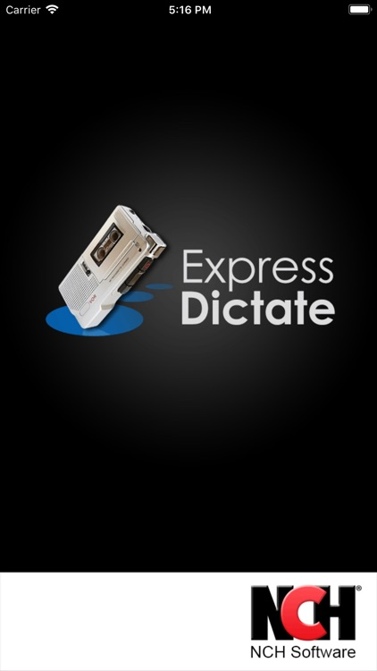 Express Dictate Dictation App