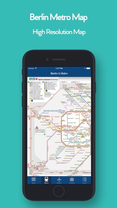 柏林離線地圖 - 城市 地鐵 機場屏幕截圖3
