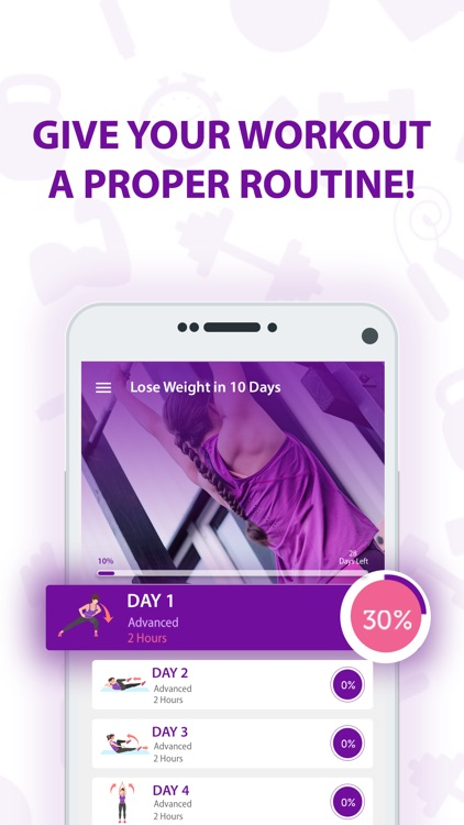10 Days Workout: Abs Fitness