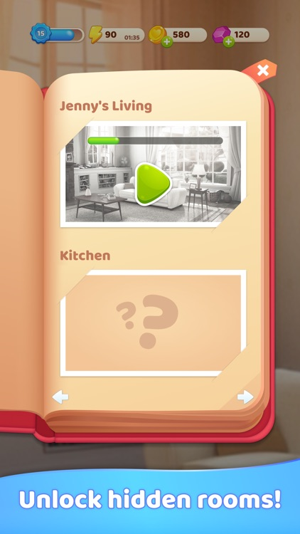 Merge Decor Game: Home Design screenshot-5